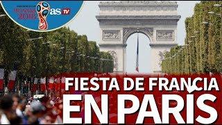 Mundial 2018 | Celebración de Francia en París I Diario AS
