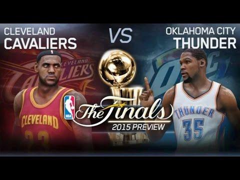 NBA Finals 2015 - Cleveland Cavaliers vs Oklahoma City Thunder - 1st Qrt - NBA LIVE 15 PS4 - HD ...