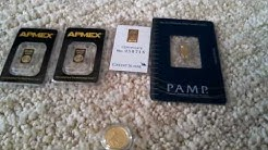 How to Buy Gold Bullion - 1 Gram Bar Comparison
