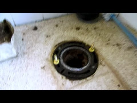 cast iron toilet flange replacement : plumbing tips