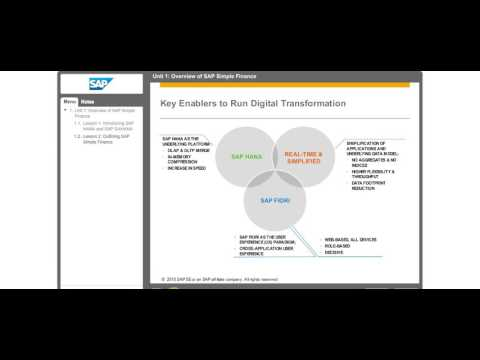 Overview of SAP Simple Finance