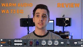 Warm Audio WA73 - EQ Test and Review
