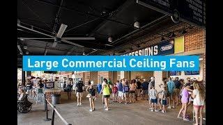 Large Commercial Ceiling Fans Loop | MacroAir Fans