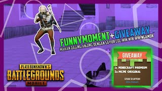 PUBG MOBILE FUNNY MOMENT + GIVEAWAY