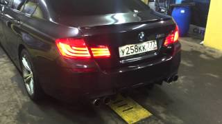 БМВ 520 2011 М-обвес / BMW 520 f10 black grey M-tuning