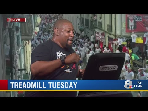 News Channel 8 takes on YMCA Treadmill Tuesday challenge