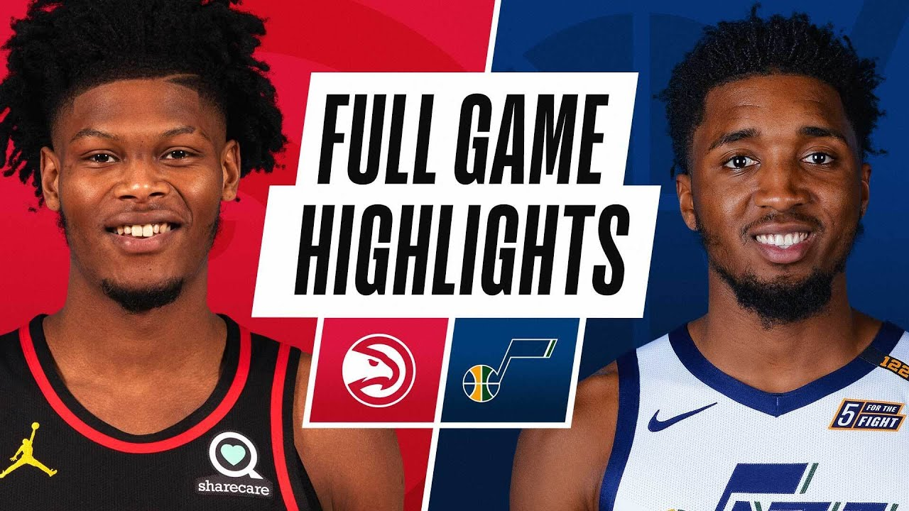 HAWKS at JAZZ | FULL GAME HIGHLIGHTS | January 15, 2021 - NBA