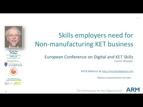 Educating Engineers and Scientists for KETs - @Brussels