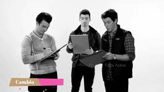 Gambar cover Jonas Brothers -Only human music video