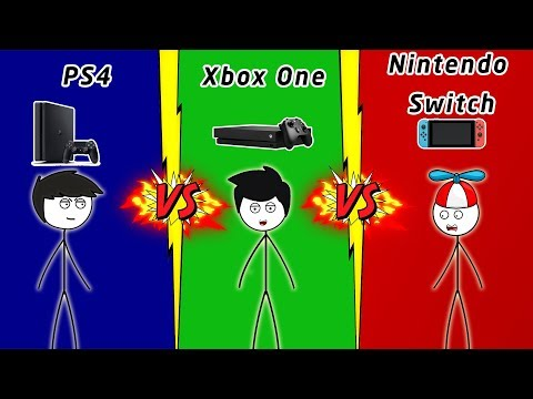 PS4 Gamers VS Xbox One Gamers VS Nintendo Switch Gamers
