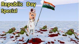 MY JOKE OF - REPUBLIC DAY SPECIAL ( गणतंत्र दिवस NEW FUNNY COMEDY VIDEO ) - KADDU JOKE | KJO