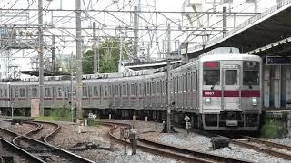 東武10000系10000型11607F 区間急行浅草行 鐘ヶ淵出発【4K】