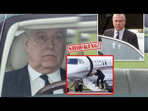Prince Andrew secretly left Balmoral to Italy to hide when he was in danger of going to jail