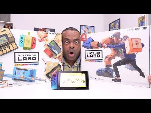 Nintendo LABO Unboxing & Rambling!