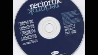 Reciprok-Balance Toi (G-Funk Instrumental)
