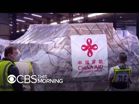 China sends medical