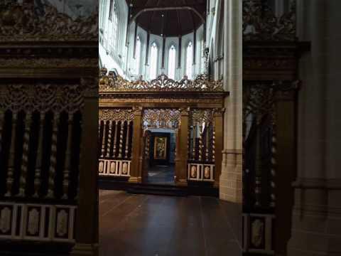 De nieuwe kerk Amsterdam korte film