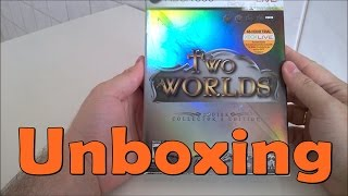 Two Worlds Collector Edition  - Xbox 360 - UNBOXING