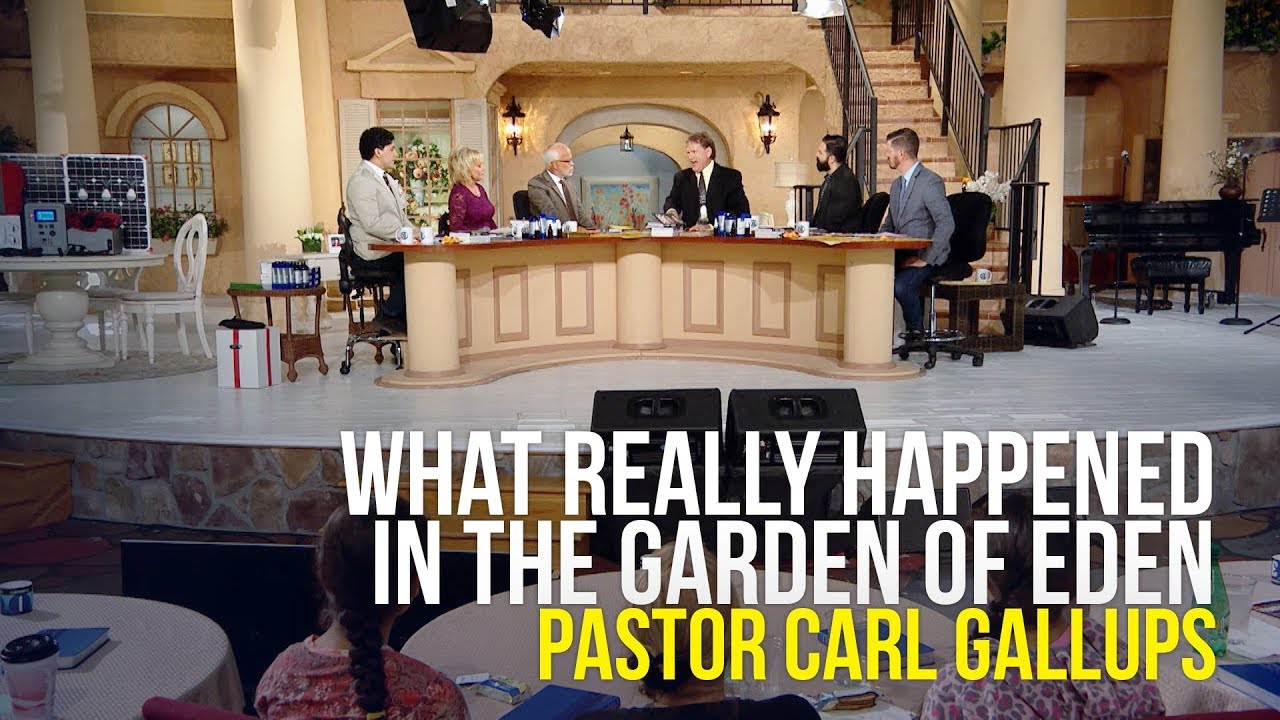 What Really Happened In The Garden Pastor Carl Gallups Youtube