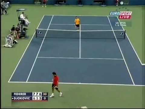 Pha ghi điểm không tưởng của Federer (videokyniem.com)