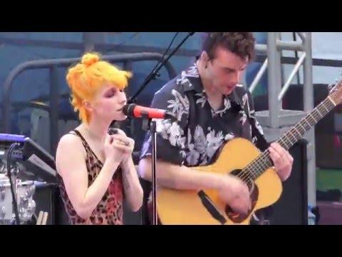 7/17 Paramore - My Heart @ Parahoy (Show #1) 3/05/16