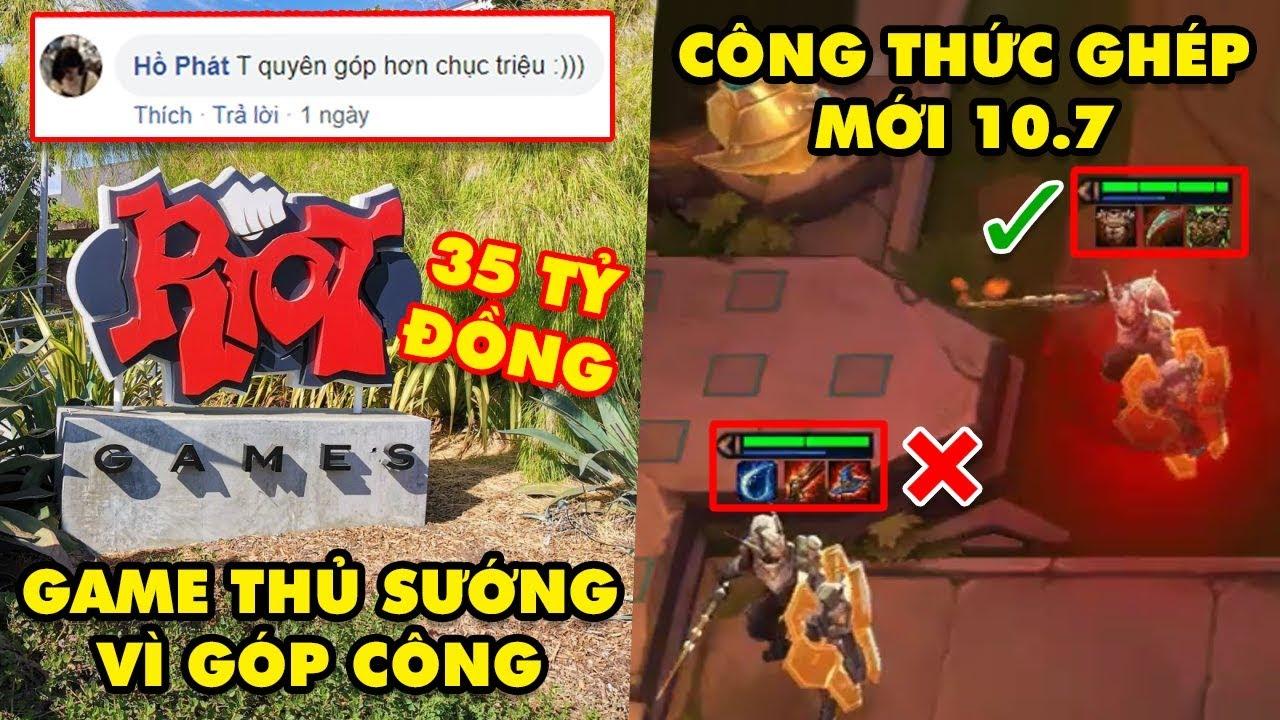 Update LMHT: Riot ủng hộ 35 Tỷ có cả mồ hôi nước mắt của game thủ – Luật ghép đồ mới trong ĐTCL 10.7