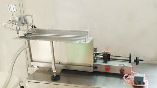 Pre-made bags stand us spout pouch filling machine single nozzle customized juice anti-drip filler
