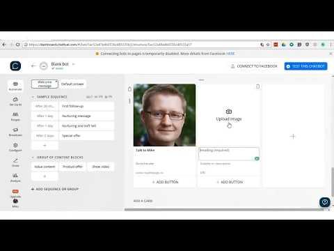 Creating Facebook Messenger Chatbots - BYTT 2018