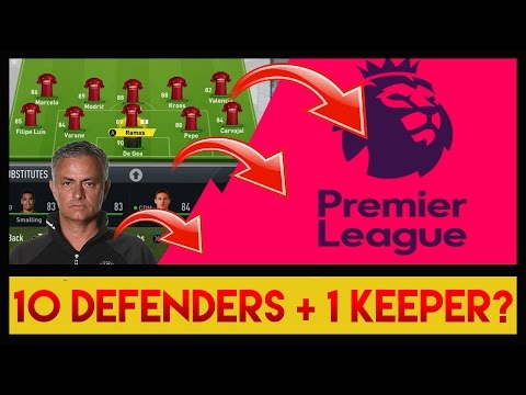 🤔 COULD JOSE WIN THE PREMIER LEAGUE WITH ONLY DEFENDERS?! - FIFA 17 EXPERIMENT - DOGGY FORFEIT?!