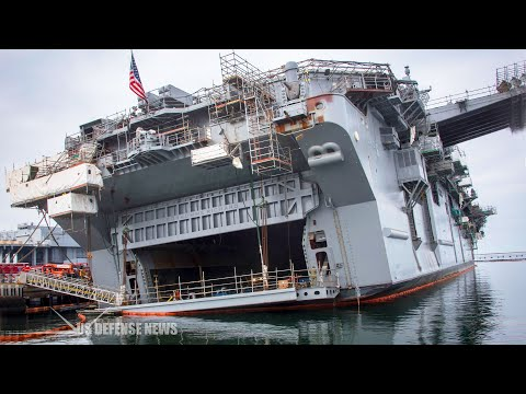 USS Bonhomme Richard Heads for Decommissioning and Scrap After A Major Fire