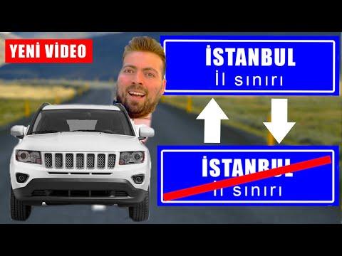 Karantina'da İstanbul'u Bir Uçtan Bir Uca GİTTİM! Ne Kadar Sürdü?