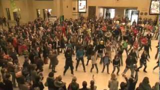 - FLASHMOB - central station in BRUSSELS (Belgium)