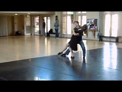 Gerentt Chan and Tatiana Kuzovleva dance cross-step waltz