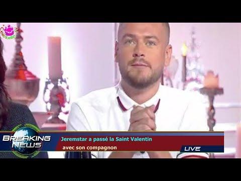 Jeremstar a passé la Saint Valentin  avec son compagnon