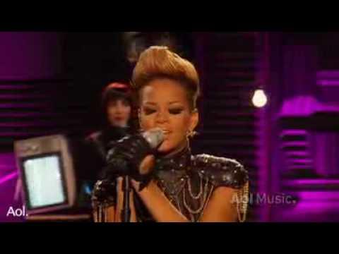 Rihanna  Rihanna Take A bow  AOL Session...
