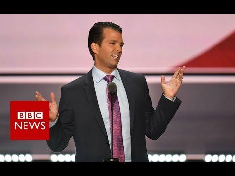 Donald Trump Jr emails show Russia communication- BBC News