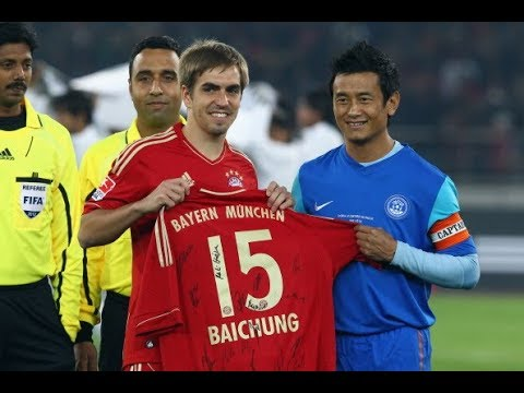 Baichung Bhutia - A Legend (HD)
