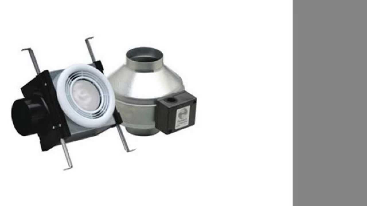 Fantech Pb110f Bathroom Exhaust Fan 4 Duct 110 Cfm Energy Star Rated 14 Watt Fluorescent