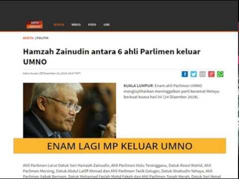 Enam lagi MP keluar UMNO