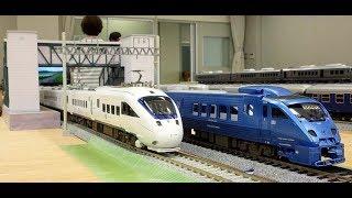 JR九州883系1000番台青いソニック(HO模型1/80)