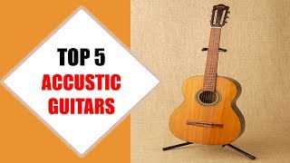Top 5 Best Acoustic Guitars 2018 | Best Acoustic Guitar Review By Jumpy Express