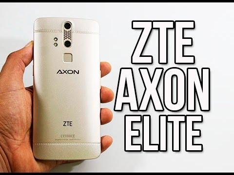 place the zte axon elite youtube file