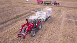 TEST Massey Ferguson 5710 S: Za nami intensywne żniwa #3   FARMER.PL