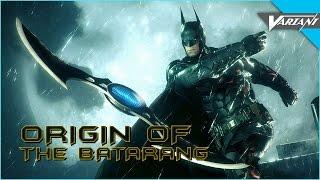 One Shot: Origin Of The Batarang!