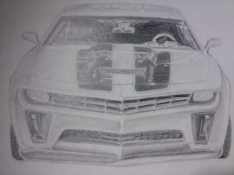Drawing Bumblebee 2009 Chevy Camaro Youtube