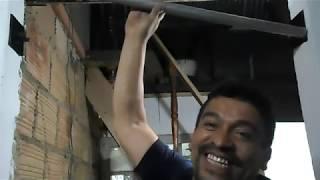 como hacer una barra para ejercicios