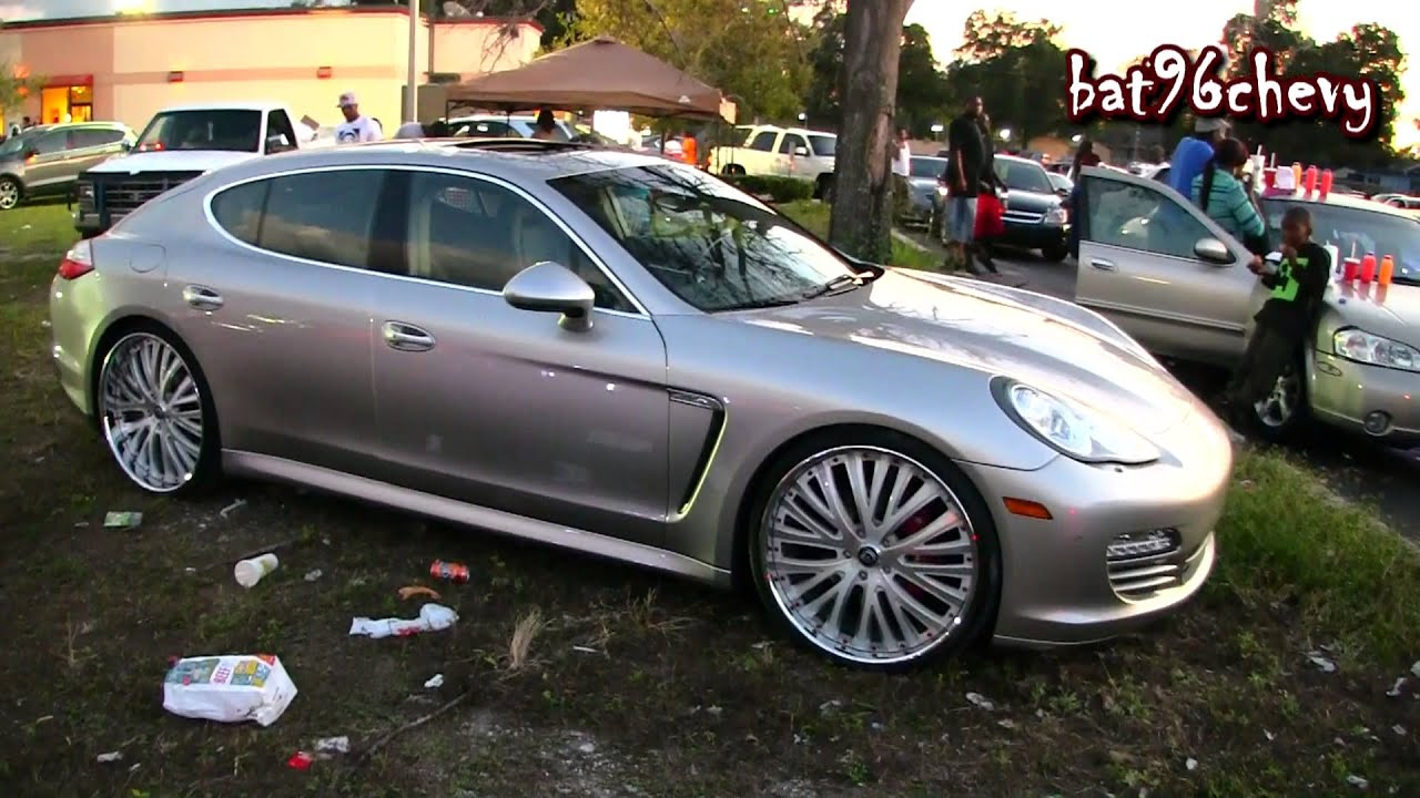 2012 Porsche Panamera 4s On 24 Quot Lexanis 1080p Hd Youtube