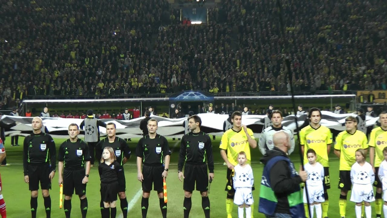 Borussia Dortmund vs Olympiakos BVB Fans  Piräus 1-0 UEFA Champions League