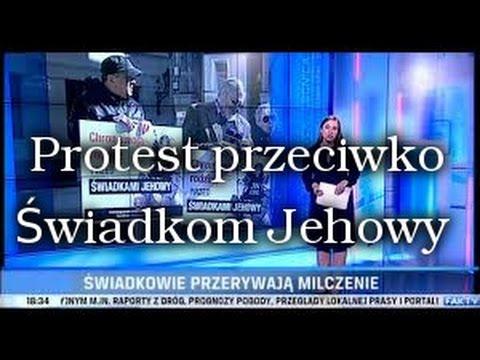 Świadkowie Jehowy #78 - Protest We Wrocławiu Przeciwko Świadkom Jehowy.