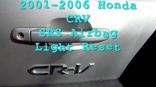 HONDA CRV AIRBAG RESET SERVICE ACM MANY MODELS SRS CLEAR hard code reprogram